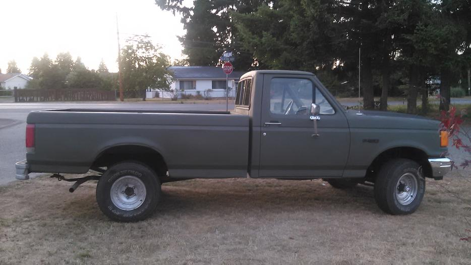 88 Ford F150 4x4 1800obo Parksville Nanaimo Mobile