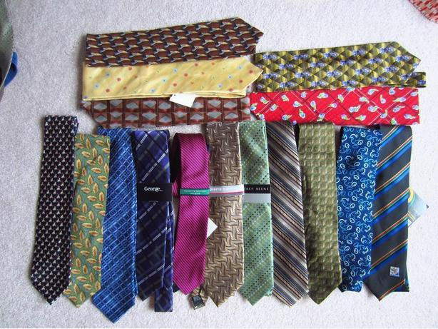 25 New Men's Silk Ties