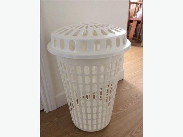 Laundry hamper with lid saanich victoria - Plastic hamper with lid ...