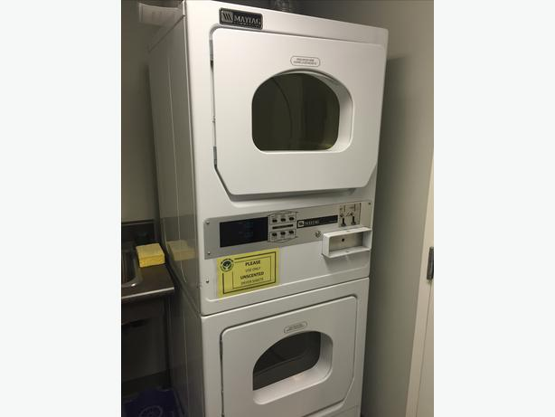Dual Commercial Stacking Dryer Oak Bay Victoria