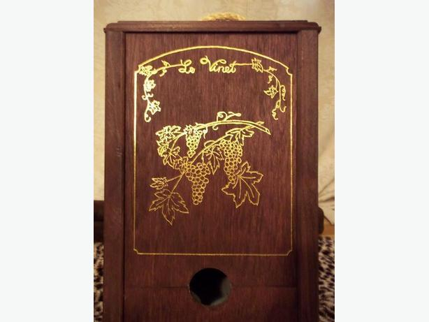 Solid wood Decorative Box for Wine