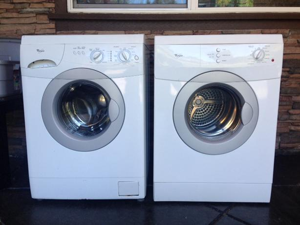 Log In needed $400 · Apartment size stacker washer/dryer