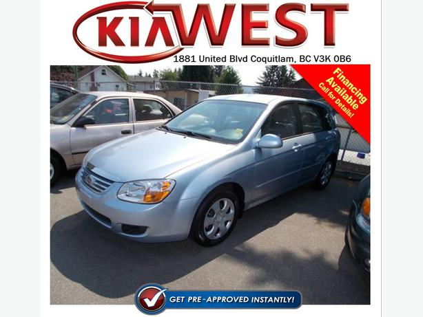 2007 Kia Spectra 5 Lx Outside Kamloops Thompson