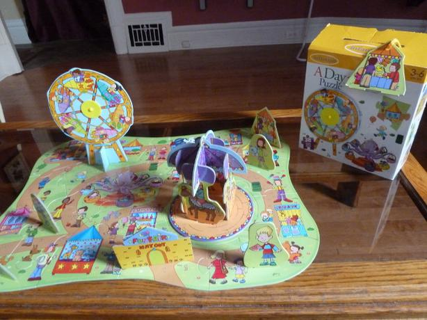 Infantino - A Day At The Fair Puzzle 3D