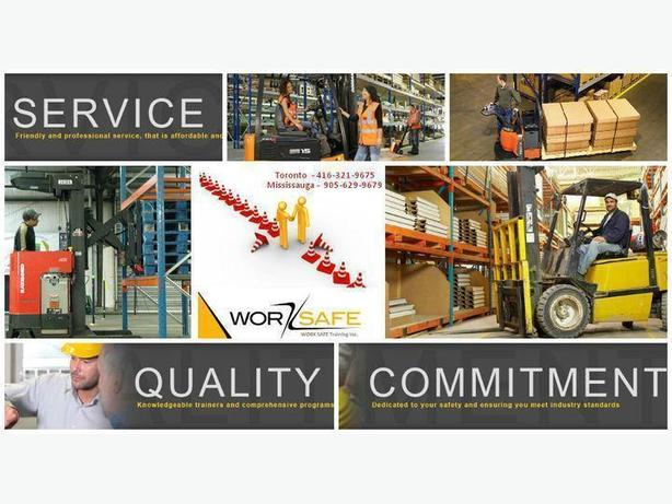 Forklift Training Oshawa / Toronto + Jobs