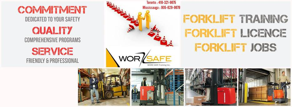 Forklift Training West Island Montreal
