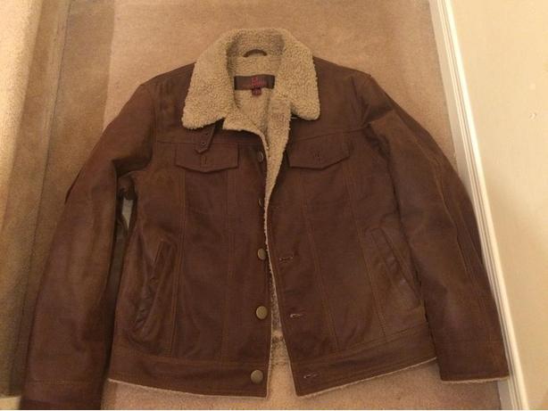 Danier Suede/Fur Jacket - Brand New Condition