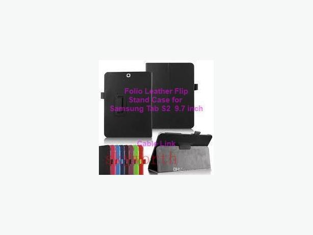 "PU Folio Stand Folding Case Samsung Galaxy Tab S2 9.7"" T810 T815"