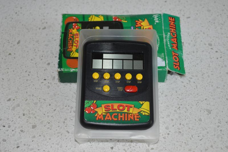 held slot machine
