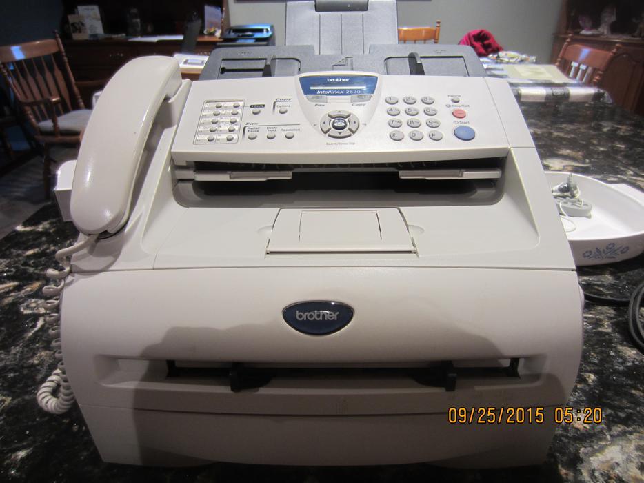 frères fax machine 2820 manuel