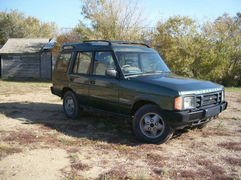 Right Hand Drive 1992 Land Rover Discovery 4x4 Outside