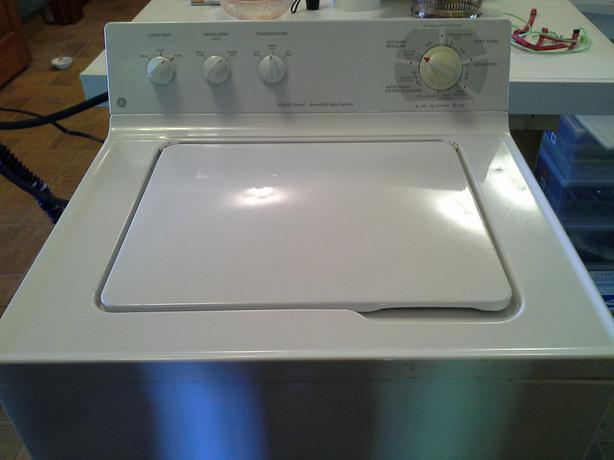 ge heavy duty capacity washing machine
