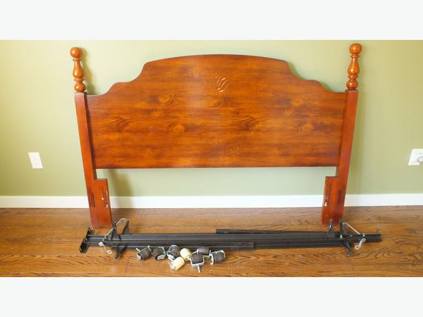 how to take apart a bed frame for moving