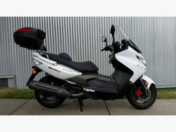 2008 Kymco Xciting 500 Maxi Scooter