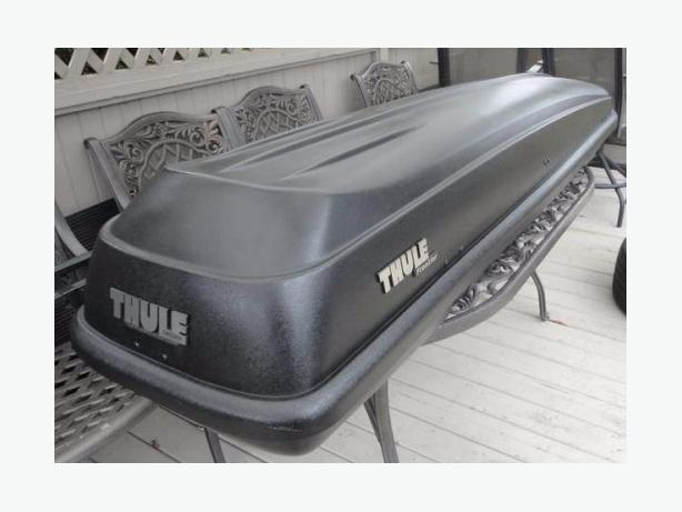 Thule Frontier Roof Cargo Box As New Storage Box