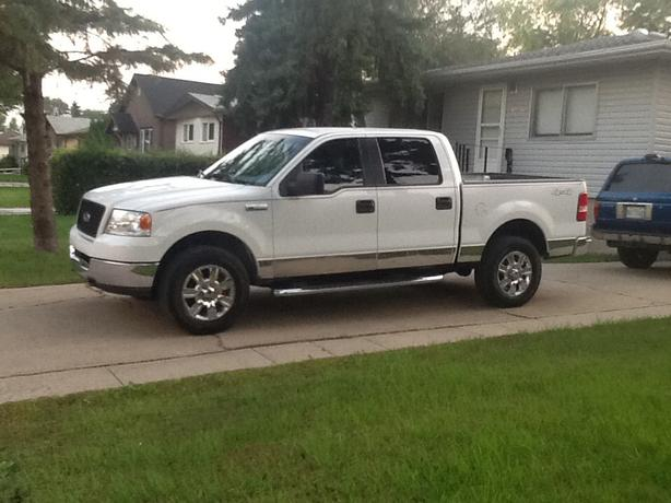 2005 ford f150 supercrew 4x4 east regina regina. Black Bedroom Furniture Sets. Home Design Ideas
