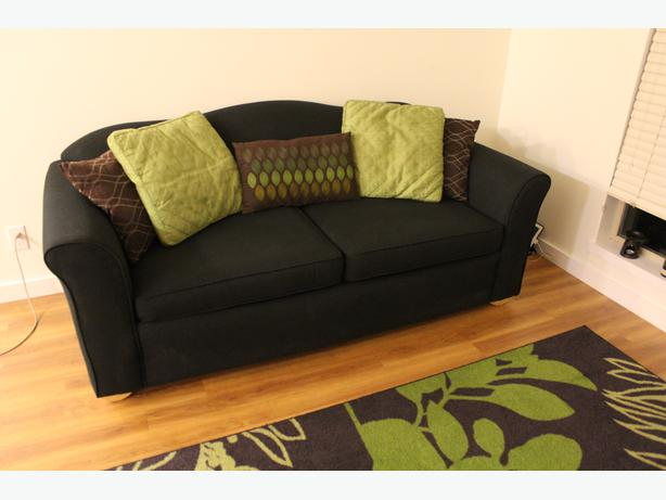 Pull out sofa bed with memory foam mattress victoria city for Foam pull out sofa bed