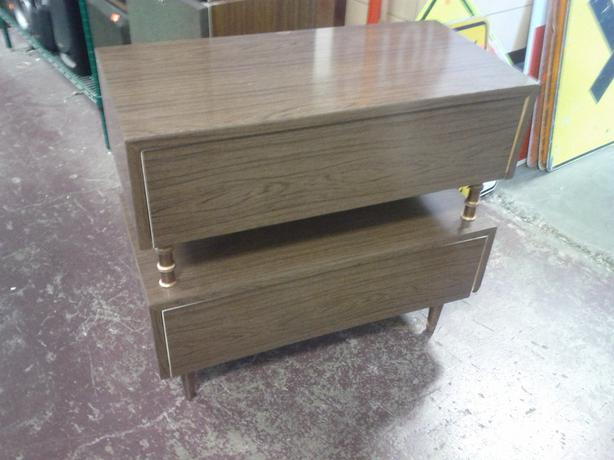 Retro 2 Drawer Cabinet (Reduced $28.00)