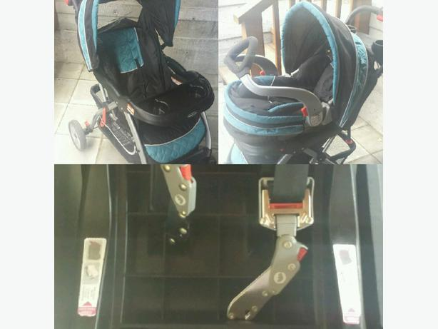 Front Facing Quick Connect Car Seat