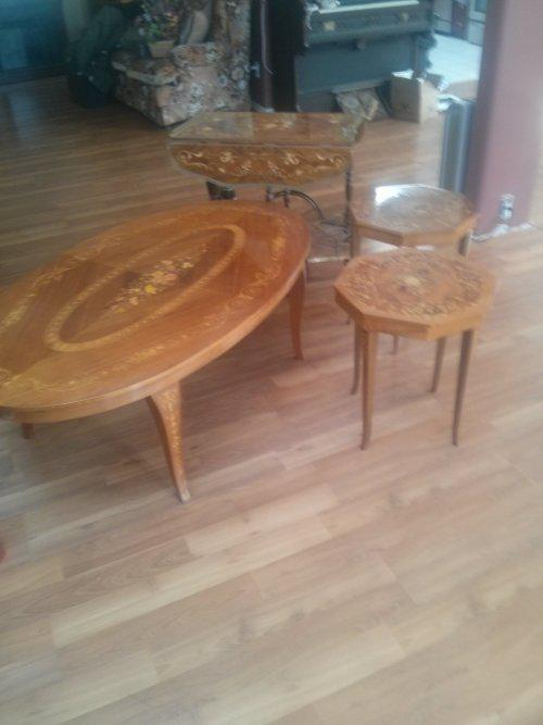 Italian Inlaid Wood Furniture North Nanaimo Parksville