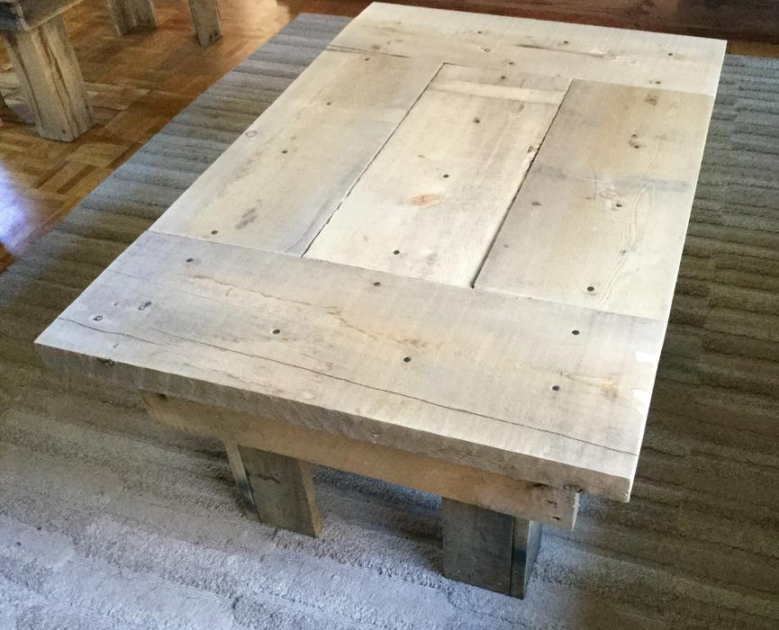 Coffee Table Pallets Barn Boards Outside Nanaimo Parksville Qualicum Beach