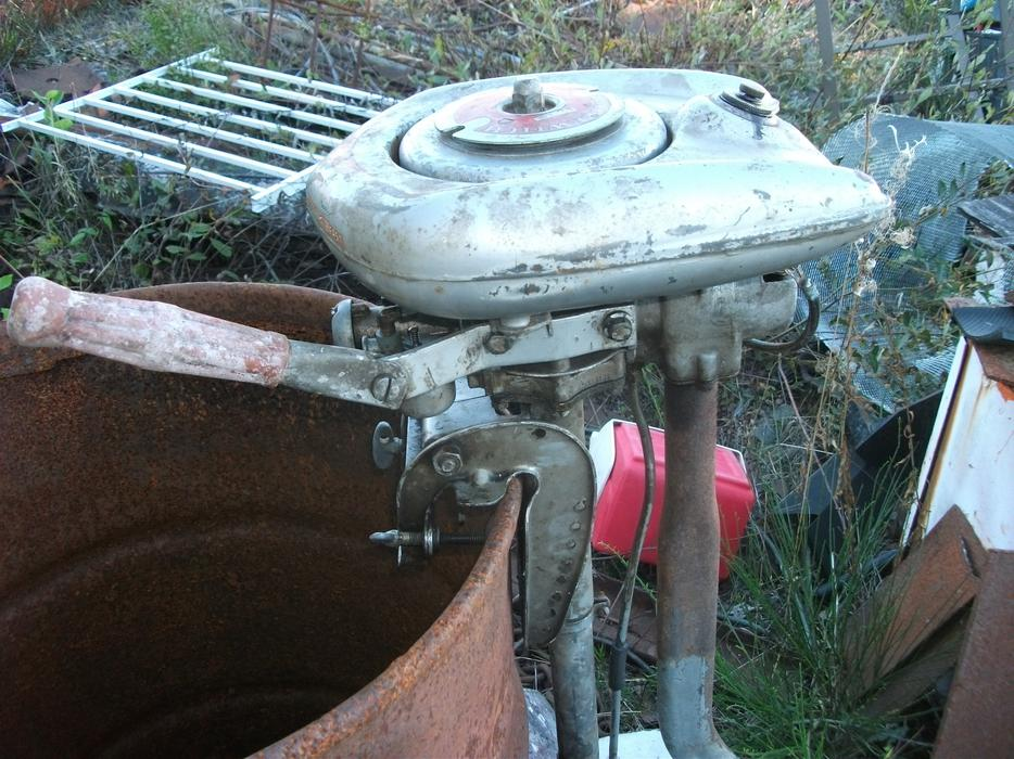 1945 waterwitch outboard motor running sooke victoria for Waterwitch outboard motor parts