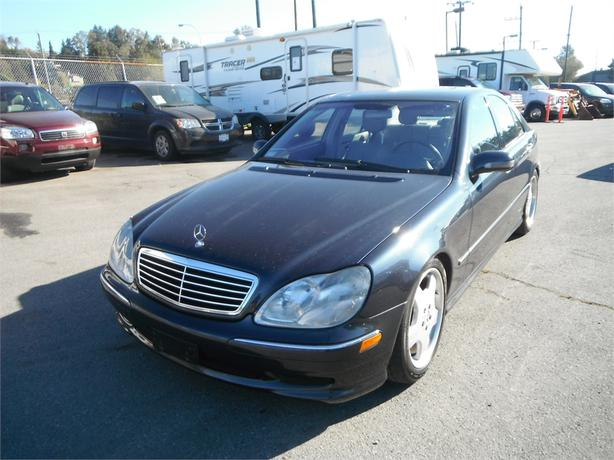 2002 mercedes benz s class s430 amg outside nanaimo for 2002 mercedes benz s430 price