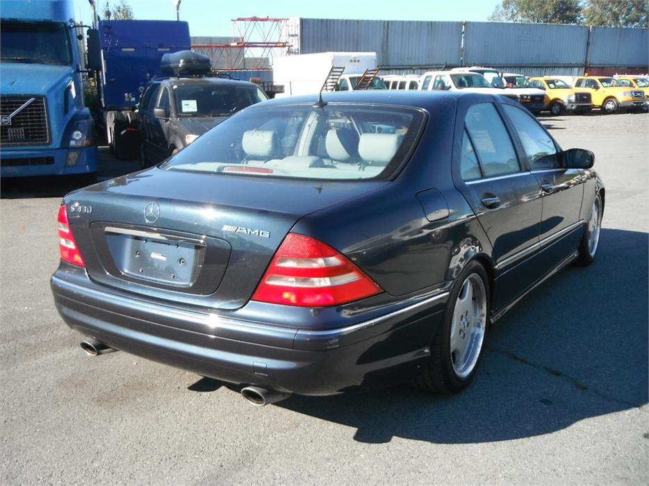 2002 mercedes benz s class s430 amg outside nanaimo for Mercedes benz bay ridge