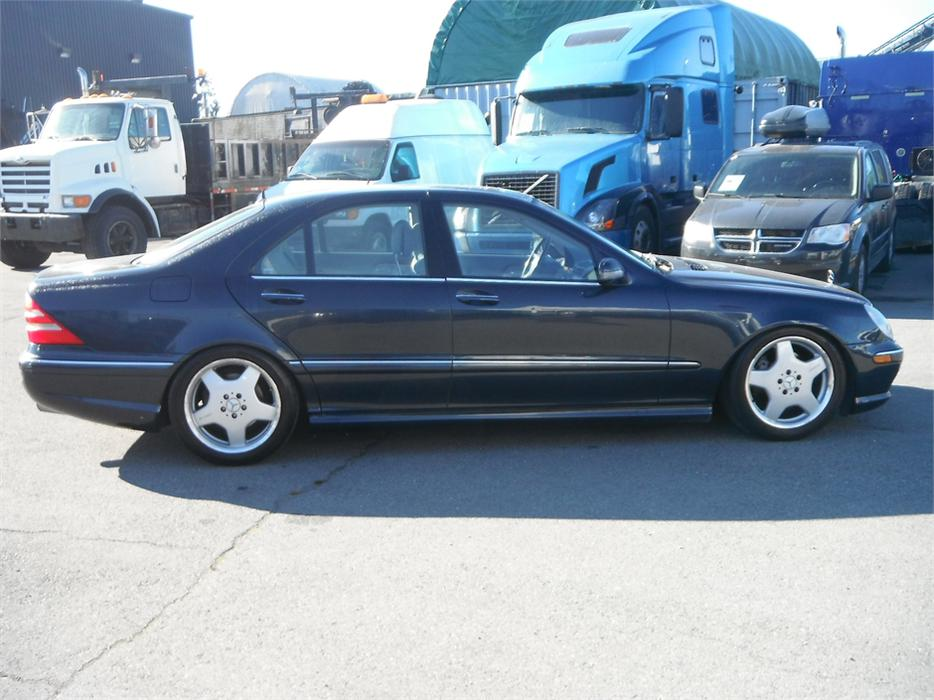 Mercedes Benz Houston North >> 2002 Mercedes-Benz S-Class S430 AMG Outside Nanaimo ...