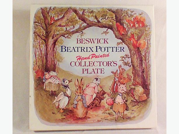 Beswick Beatrix Potter plate