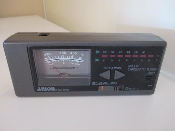 Price reduced again.  Arion Quartz Micon Chromatic Tuner HU-8400