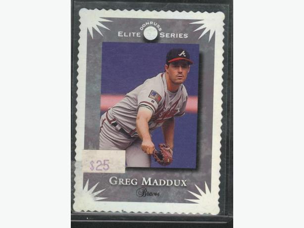 1994 Donruss Elite Greg Maddux Insert Braves
