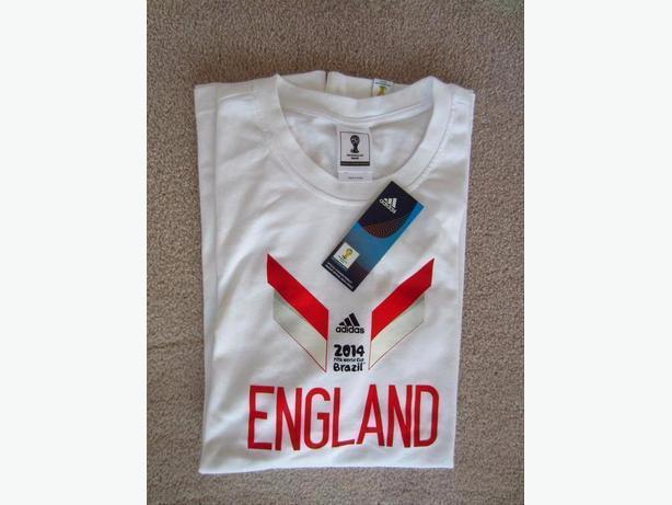 New FIFA England 2014 Brazil T-Shirt