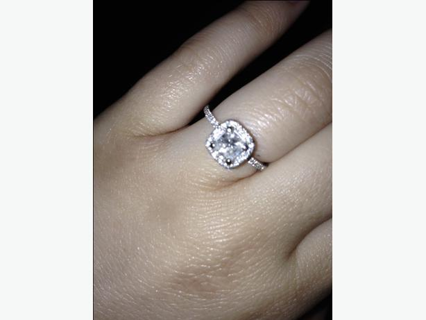 Stunning Canadian Diamond Engagement Ring Price Reduced