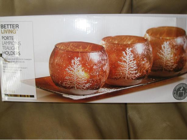 BRAND NEW - 4 piece tealight set