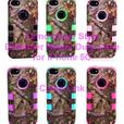 Camouflage Defender Style Hybrid Case for IPhone 5C