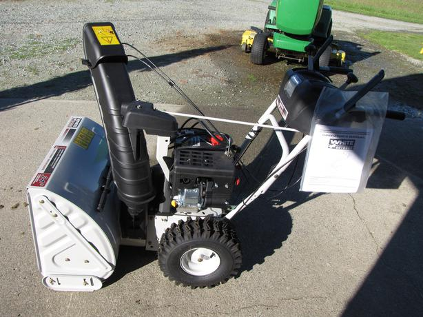 Snow Blower Brands : Brand new white quot snow blower for sale or trade central