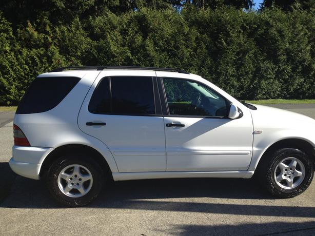 2000 mercedes ml320 low kms one owner saanich victoria for 2000 mercedes benz ml320 owners manual