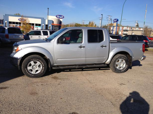 2005 nissan frontier crew cab 4x4 se north regina regina. Black Bedroom Furniture Sets. Home Design Ideas