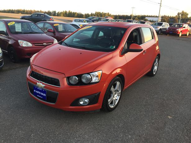 2012 Chevrolet Sonic LTZ TURBO Hachback 6 Speed M