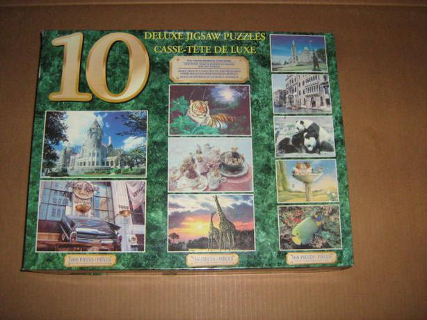 MULTIPLE  JIGSAW  PUZZLES  PACKS