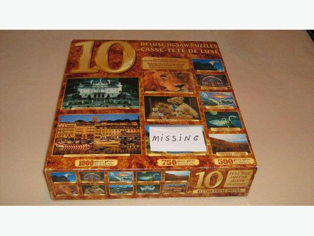 MULTIPLE  JIGSAW  PUZZLES  PACK