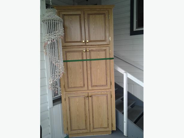 Free Corner Triangular Cupboard Central Saanich Victoria
