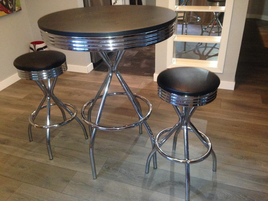 vintage bar stools for sale high retro table and 2 bar stools for 120 obo 8821