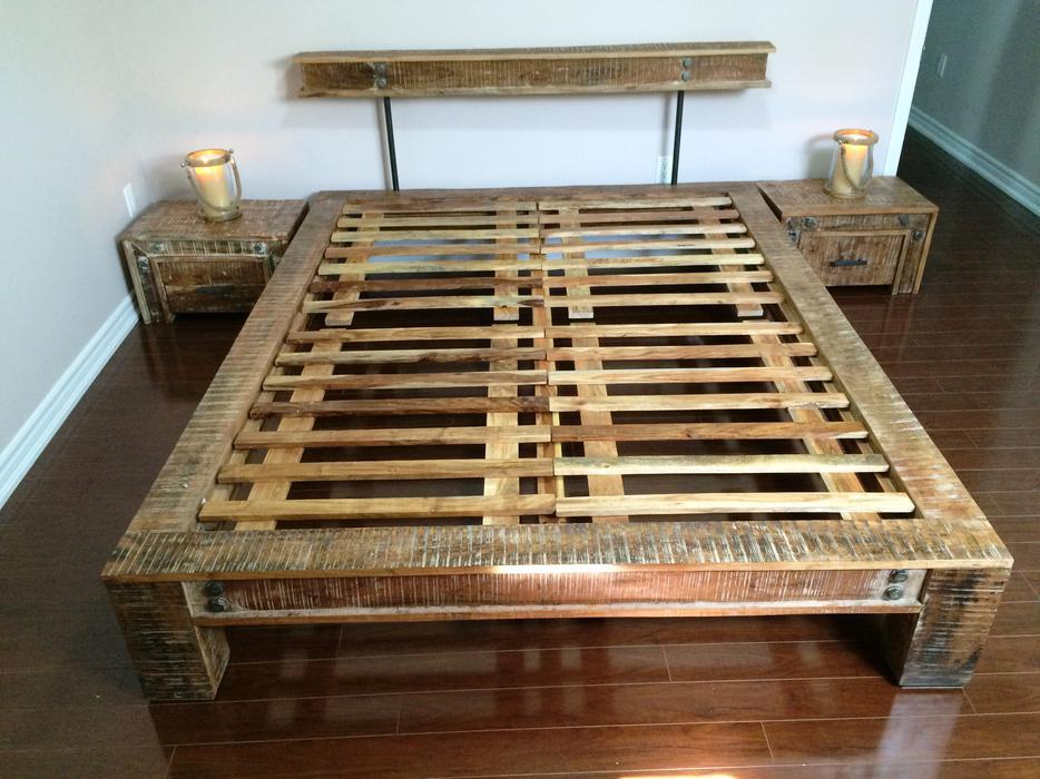 Tables de nuit gratuit avec achat du lit style artemano for Table de nuit pour lit mezzanine