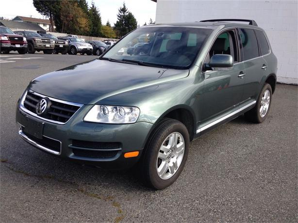 2004 volkswagen touareg v8 north nanaimo nanaimo. Black Bedroom Furniture Sets. Home Design Ideas