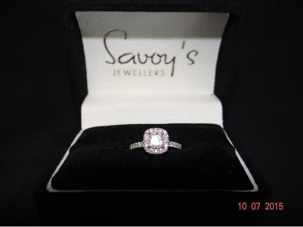 Ladys Engagement Ring