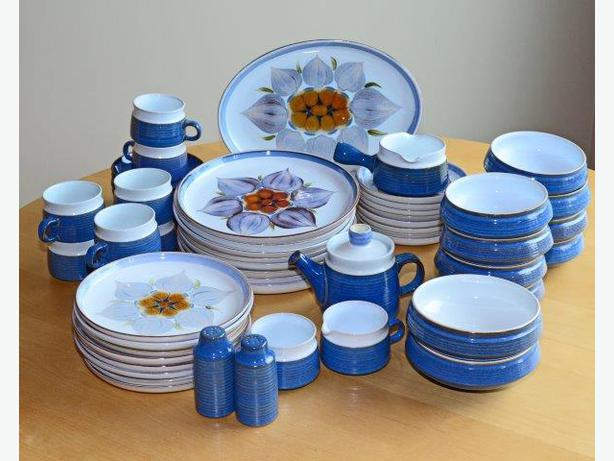 Denby Chatsworth Pattern Vintage Dishes from 1970u0027s & Denby Chatsworth Pattern Vintage Dishes from 1970u0026#39;s Sooke Victoria