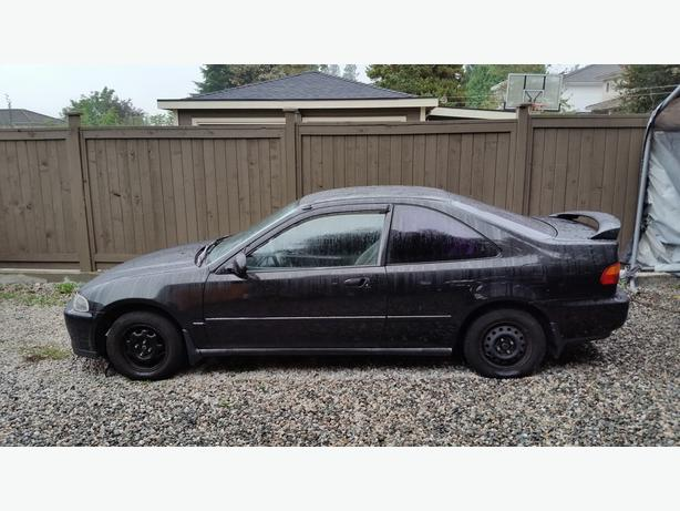 Civic Classic Sedan Black Olx: 1995 Honda Civic Special Coupe 1.6L Auto Black Vancouver
