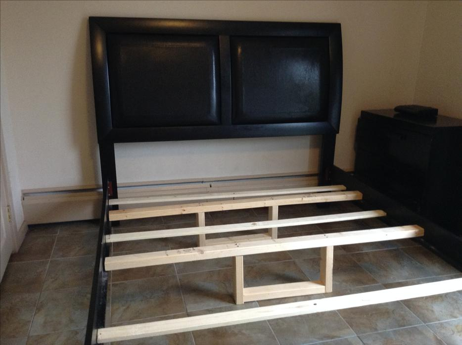 Wood Bed Frame Ottawa